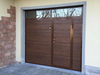 Carini porte da garage sezionali e basculanti portoni - Basculante con porta pedonale prezzo ...