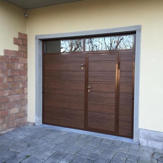 Porte per garage portoni sezionali e basculanti cancelli - Portoni garage con finestre ...