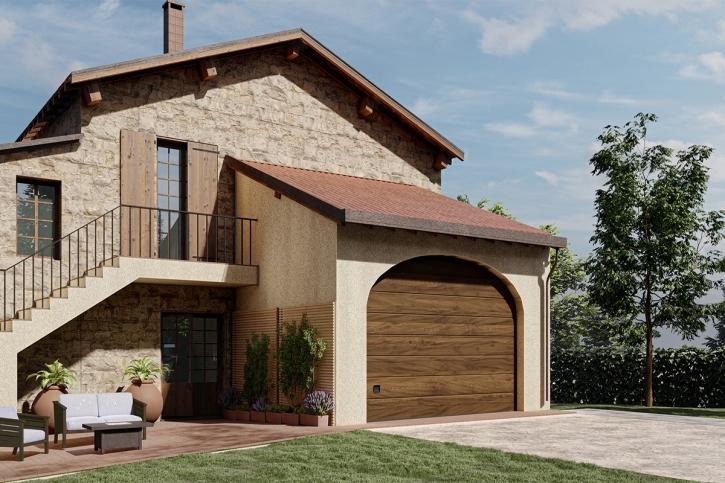 Perché sostituire una porta garage? Per assicurare eleganza e design