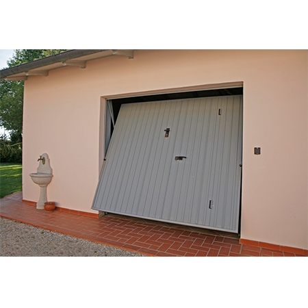 Cancello basculante garage