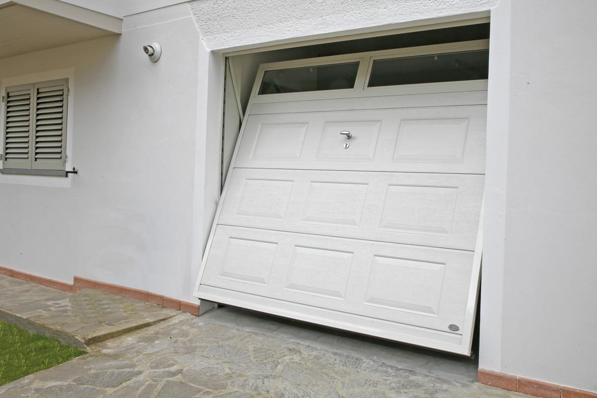 Diamonds porta basculante linea acciaio porte - Prezzo porta basculante garage ...