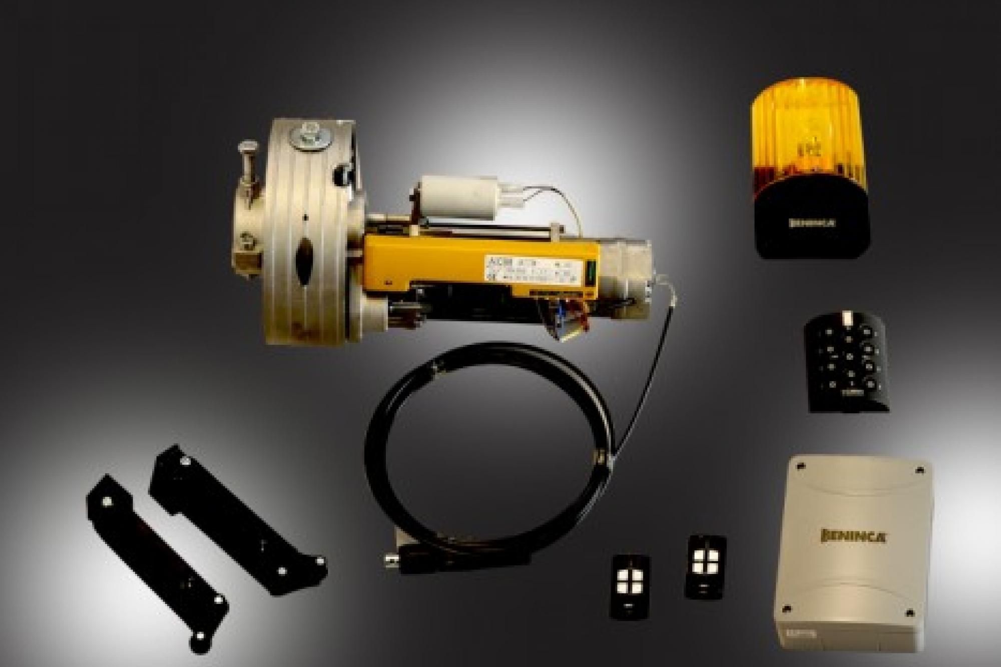 Kit automazione serrande avvolgibili motorizzate e for Disegni della barra del garage